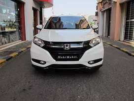 Honda HRV S matic 2017 Putih Nopol Genap