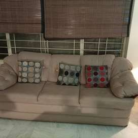5 seater sofa- old and used reasonable price