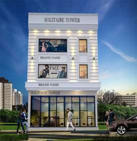 Solitaire Tower Barnala Road