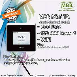 Harga TOP Mesin Absensi Wajah Touch Screen MBB MINI TA Fitur WIFI