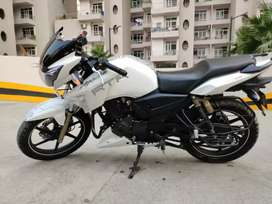 Perfect condition Apache RTR 180, Year Nov 2017