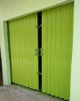Rolling door folding gate murah berkualitas