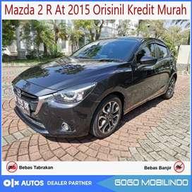 [DP33jt] Mazda 2 R At 2015 Orisinil Kredit Murah