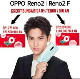 Oppo Reno 2 Kredit Bunga bisa 0%