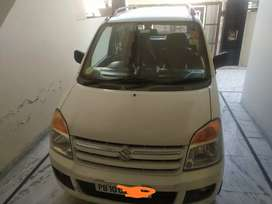 Wagon R (Petrol + LPG) Ludhiana number, in good condition 4th owner