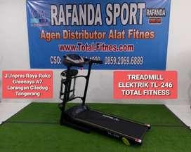 TL-246 Treadmill Elektrik 3in1 Total Fitness Harga Super Murah