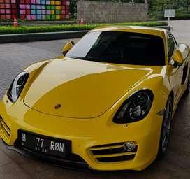 Porsche Cayman 981 2.7 PDK Racing Yellow - Superb Value for Money