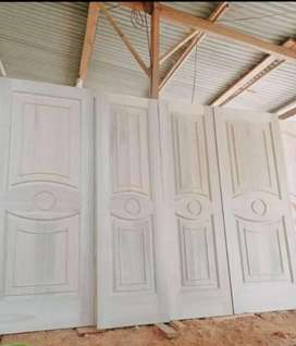 Pintu kamar minimalis kayu kamper Samarinda Oven