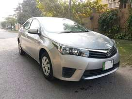 Toyota Corolla Gli 2015 on easy installment