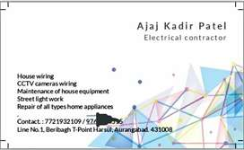 All types electrical works