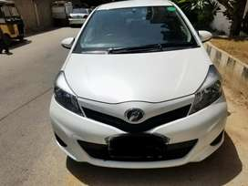 Toyota Vitz F 1.0 Automatic 2014 on easy installment