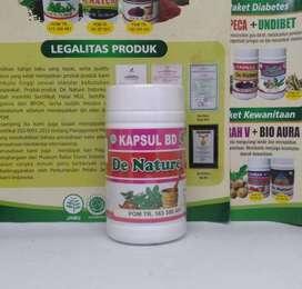 KAPSUL BD BERSIH DARAH DE NATURE Original Herbal