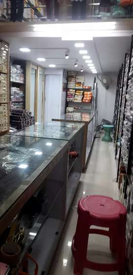 Wanted  salesman in ready made cloth store