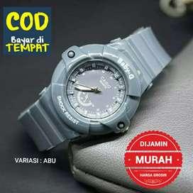 Jam tangan murah - Abu-abu ( BAYAR DI RUMAH )