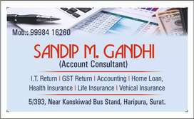 Accounts,  Life Insurance,  medical insurance, Vehical Insurance