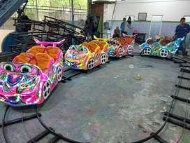 kereta mini coaster supernova DAP full lampu led hias