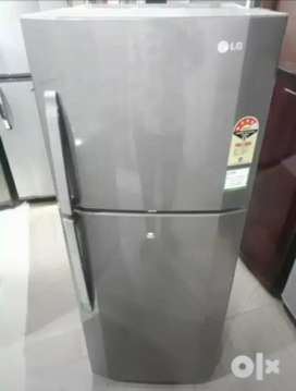 Lg 260litrs steel finish refrigerator