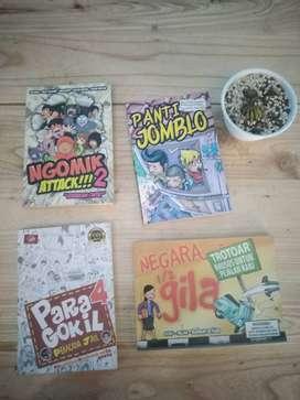 Borongan Buku Komik Indonesia