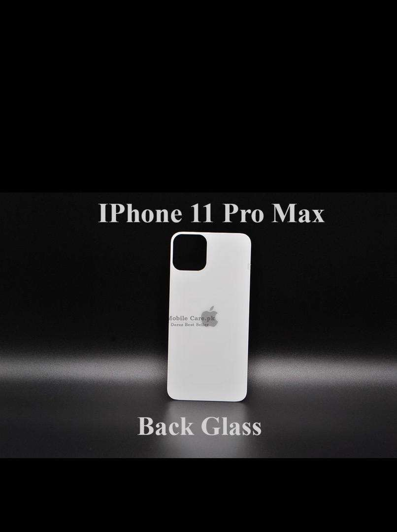 Iphone 11 pro max tempered glass back 0