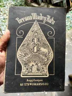 Buku Pedalangan Antik Kresna Madeg Ratu thn 1958