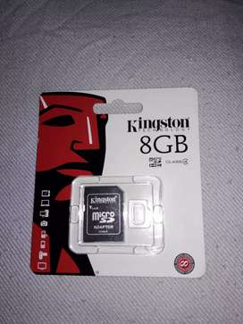 Kingston technology 8gb micro sd adapter for computers laptops dslrs