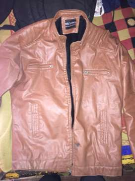 Etailian mix legther jecket good quality rear used