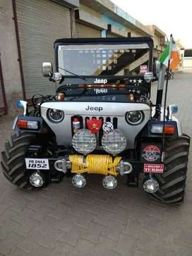 Hello Guys I Am (garg Modified Jeep) I Make It