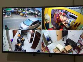 Paket Cctv 4 Channel HD 1080p 2 Mega pixel