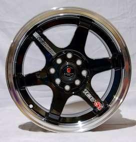 Jual velg racing Ring 15 Untuk mobil Agya, Calya, Brio (bisa credit )