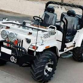 Modified jeeps open