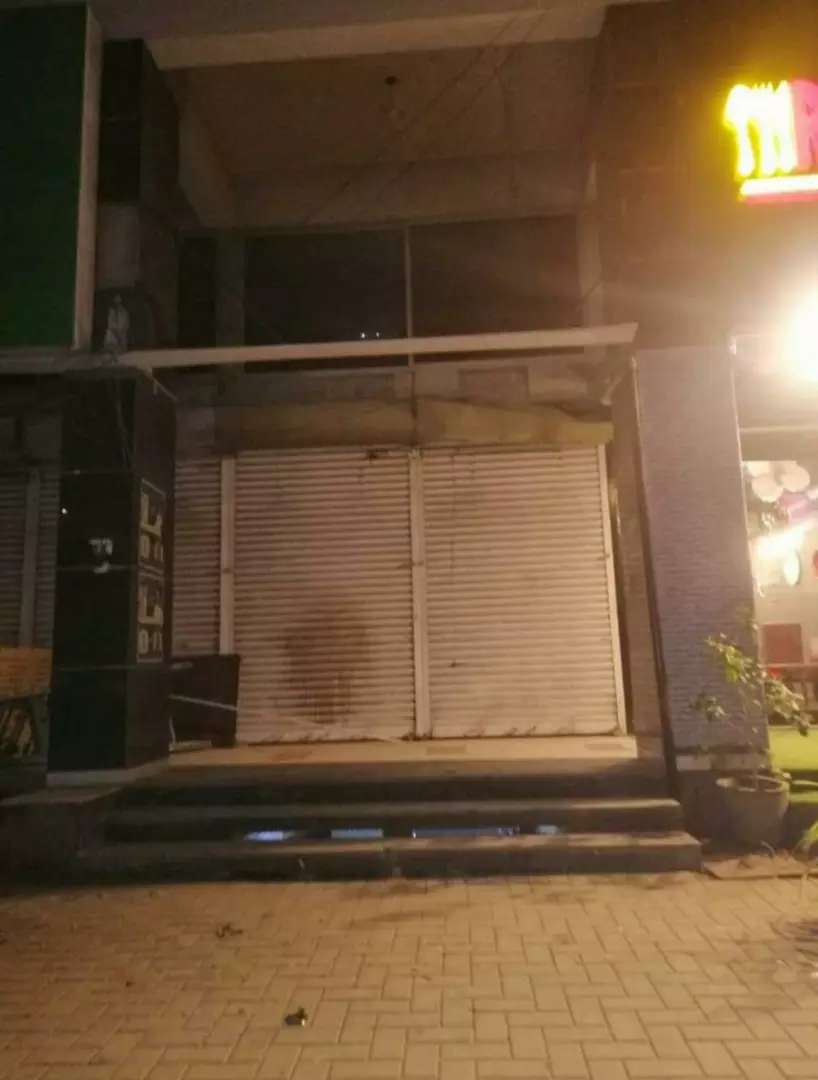 Shop ground+1 for rent main shaheed e millat road 0