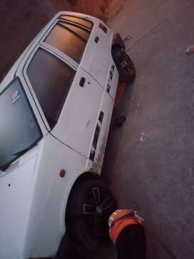 Maruti 800 non ac new tyre new alloy new battery ok engine gear ok