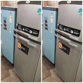 with 5 year warranty Whirlpool 250 liter double door fridge