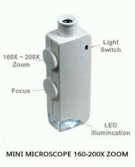 Mikroskop mini Portable 160-200x