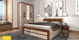 New PREMIUM Quality Bed With Storage Bed At 12500/-