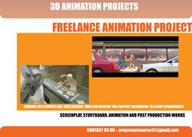 game modeling, digital painting and animation projects