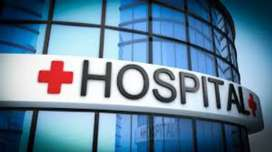 Urgent required female receptionist for hospital