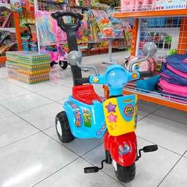 Sepeda Dorong Anak Roda Tiga