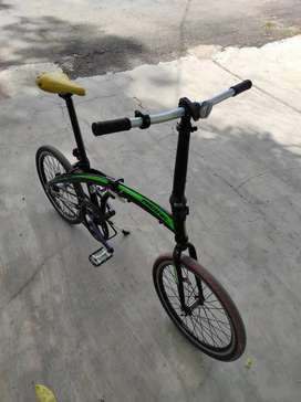 Sepeda lipat Pacific 2980 frame alloy tahan karat