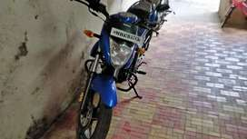 Blue Gixxer, in mint condition, all original documents intact