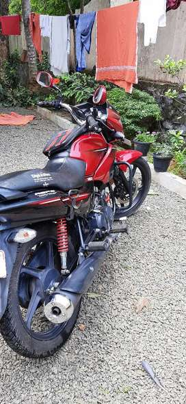 2015 model glamour (red colour) front disk model