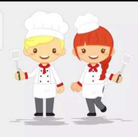 Required cooking Expert female