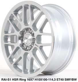 type velg RAI-S1 HSR R16X7 H10X100-114,3 ET40 SMF