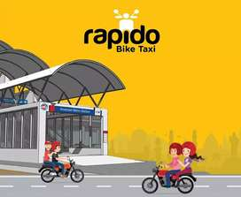 Join RAPIDO BIKE TAXI and start earning
