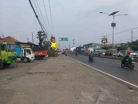 Dijual Tanah di tepi jalan raya pantura Cibalongsari, Klari, Karawang.
