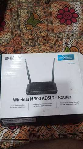 D-LINK WIFI ROUTER DOUBLE ANTENA