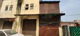 Shop+ flat + adjacent land in Sarnath, premium colony for sale