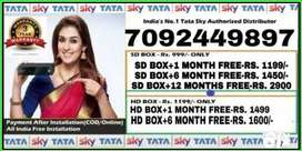 "Mega Offer's "" TATA SKY"" 6 Month Subscription Free for Rs 1450 Only"