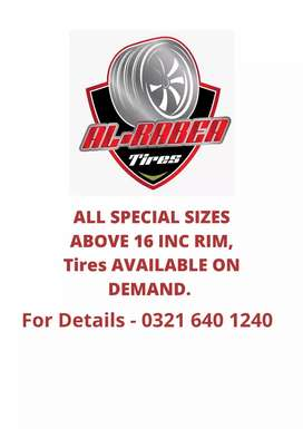 Tires Special Sizes