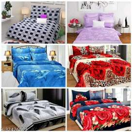 Cotton bedsheets pack of -6 free delivery